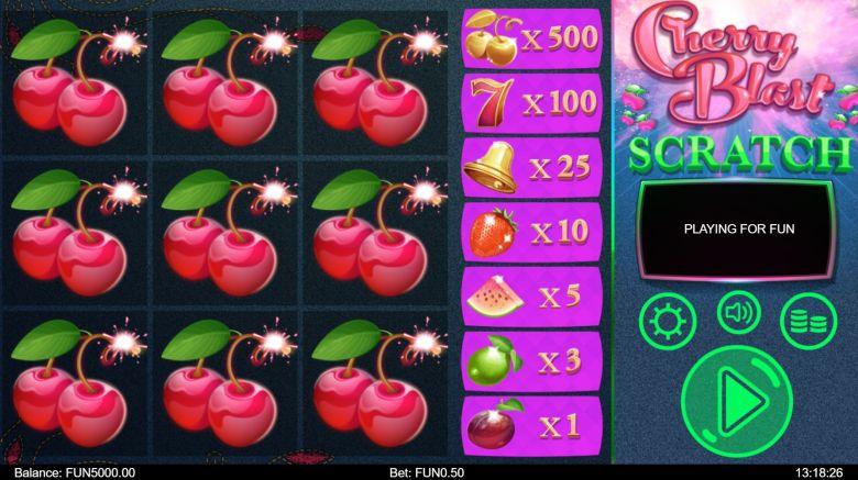 Cherry Blast -arpa