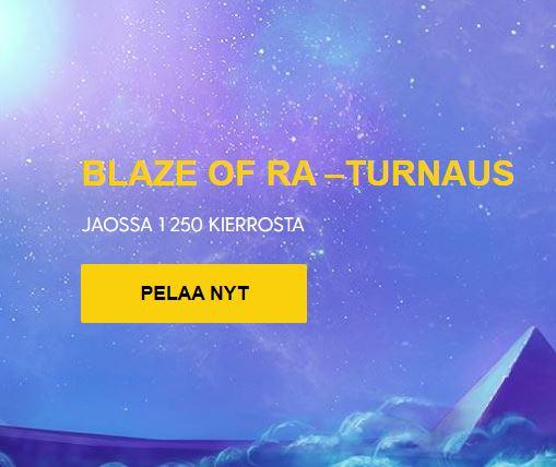 Blaze of Ra -turnaus